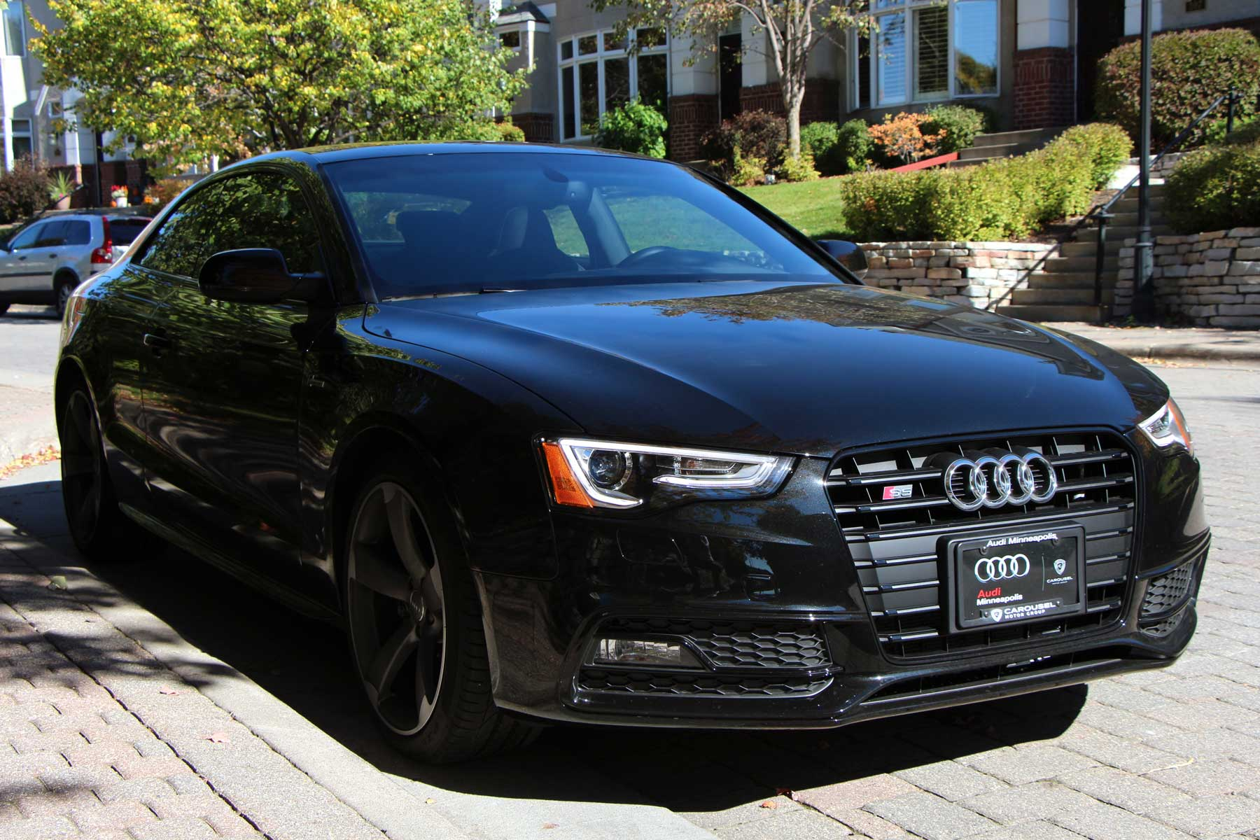 Audi S5 Black Optic Front Angle