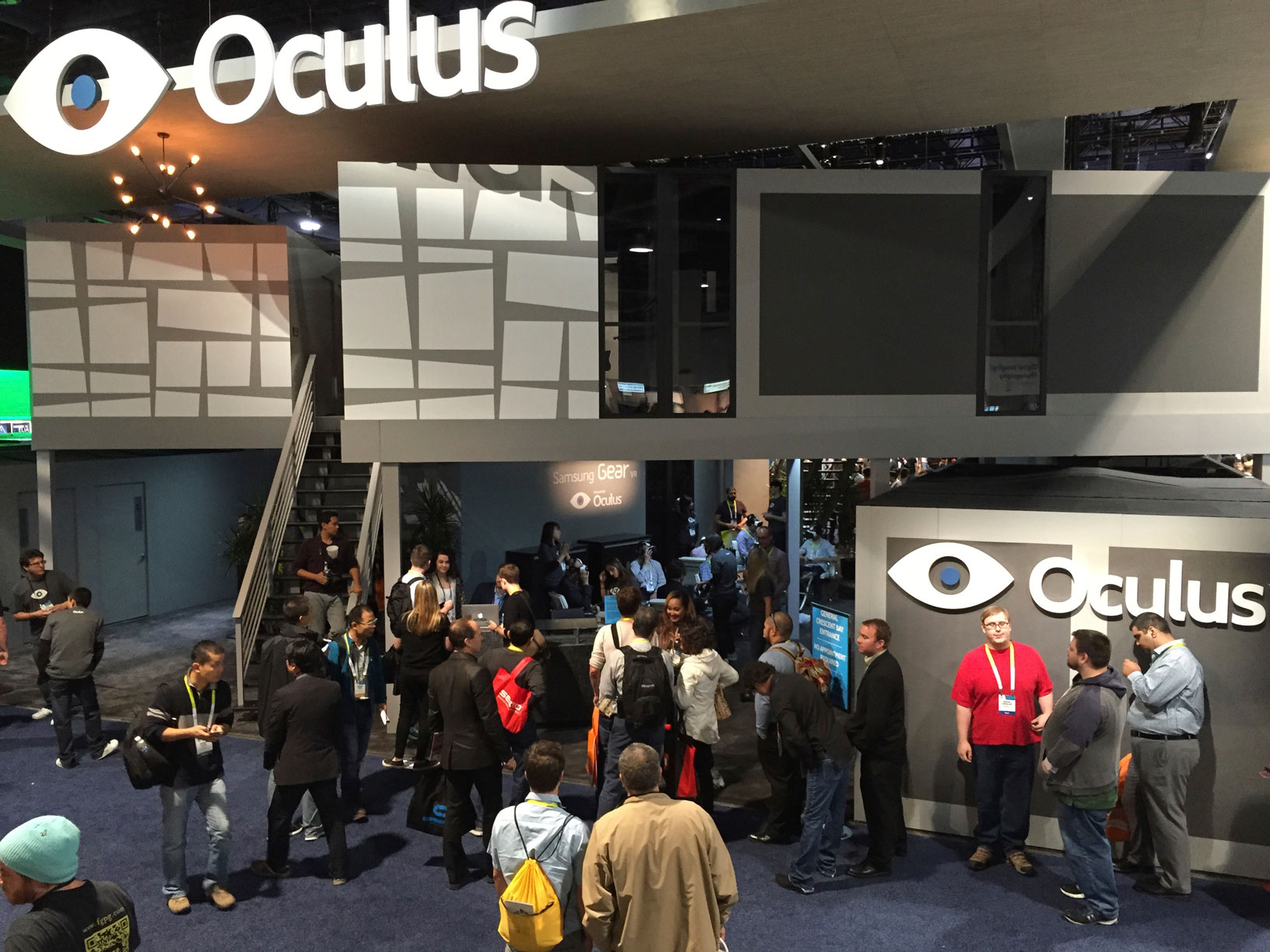CES 2015 - Oculus booth