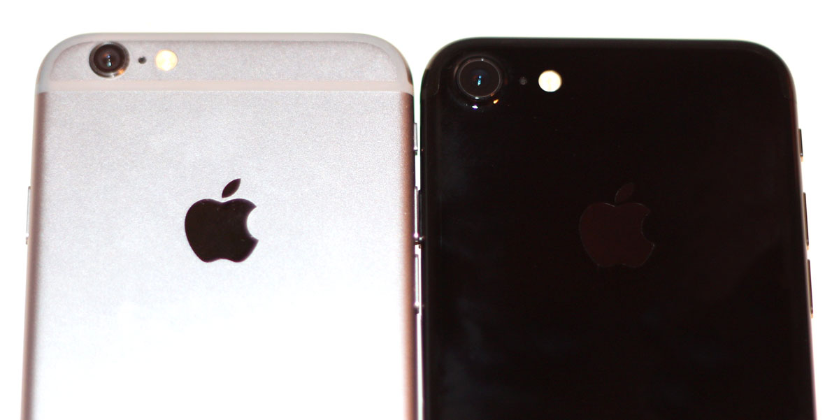 iPhone 6 vs iPhone 7 rear cameras