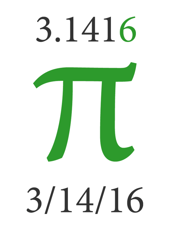 Pi Day 2016 - Don't Forget to Round Up!