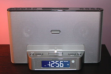 review sony clock radio with lightning connector. Black Bedroom Furniture Sets. Home Design Ideas